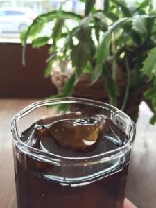 有限会社チモトコーヒーのアイスコーヒー