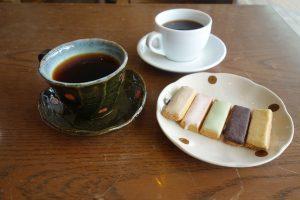 コーヒーと落雁2